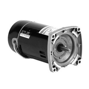 Emerson Replacement Square Flange Motor 2HP Up-Rated Single-Speed