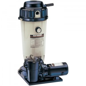 Hayward EC50 Filter & Pump System 1 HP, Twist Lock