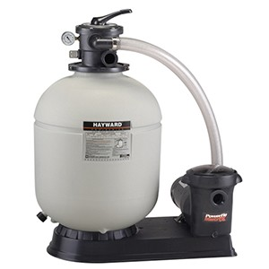 Hayward Pro 18-in. Filter & Pump 1 HP Matrix, Twist Lock