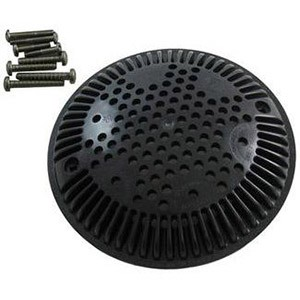 Hayward Suction Outlet Replacement Cover and Frame, Black