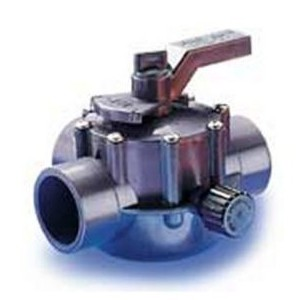 "Jandy 3-Way Gray Valve 2""-2.5"""