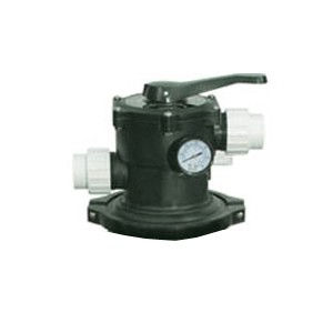 Jandy Top Mount Multiport Valve w/ Clamp Assembly