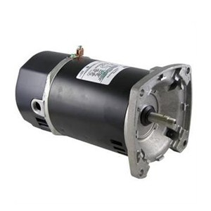 Marathon Replacement Square Flange Motor 2HP Up-Rated Single-Speed