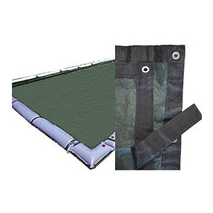 Midwest Canvas 18' x 40' Rect Mesh Winter Cover (6yr Wty)
