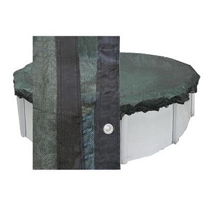 Midwest Canvas 24' Round Mesh Winter Cover (6yr Wty)