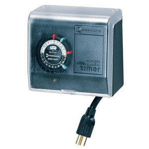 Intermatic P1100 Series Outdoor Timer with Large Plastic Enclosure