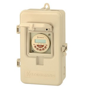 Intermatic P1000 Series Time Switch with Safety Case
