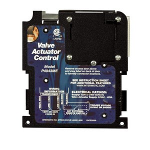 Intermatic P4000ME Series Actuator Control & Load Mechanisms
