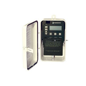 Intermatic PE100 Series Time Clock Control in Plastic Enclosure with Freeze Protection Probe