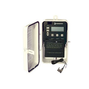 Intermatic PE100 Series Time Clock Control in Enclosure with Freeze Protection Probe