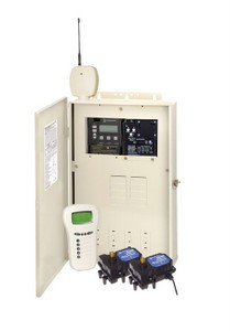 Intermatic PE30000RC Series Control Panel with P4243ME & P1353ME with Wireless Remote, Heater Control, & Actuators