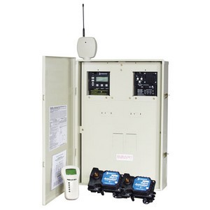Intermatic PE40000 Series Control Panel with P1353ME with Wireless Commands, Heater Controls, & Two Acuators