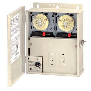 Intermatic PF1200 Series Multi-Circuit Freeze Protection Controls (Two Time Switches for Pools with Cleaners)