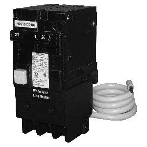 Pentair GFCI Circuit Breaker with 2-pole 15 amp