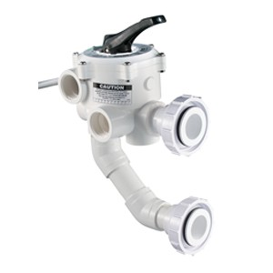 Pentair 2'' Multiport Valve 7.5'' Center for Triton & Quad Filters