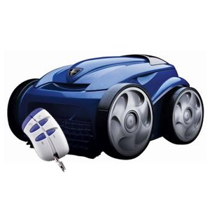 Polaris 9300xi Sport Robotic Pool Cleaner w/ Remote and Caddy