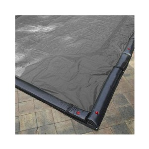Pool Tux King 12' x 24' Rect Solid Winter Cover (15yr Wty)