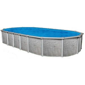 Sharkline heritage 15 39 x 30 39 oval x 54 above ground swimming pool for Consumer reviews above ground swimming pools