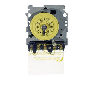 Intermatic T100 Series 208-277 V Time Switch Mechanism with DPST switch