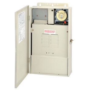 Intermatic T40000RT Series Control Panel with T104M & 300 Watt Transformer