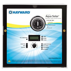 Hayward Aqua Solar with LV & HV output, timeclock 3 HP relay