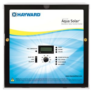 Hayward Aqua Solar with LV output with 2''/2 1/2'' 3-way Positive Seal Valve, 2 PC sensors