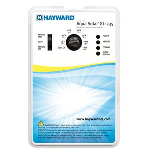 Hayward Solar Pool Control with 1 1/2''/2'' 3-way Positive Seal Valve, 1 PC sensors, 1 SC-1/4 sensor