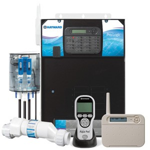 Hayward Pro Logic Total Pool Management 8 Relays, 8 Additional Soft Keys, 4 Valves, 2 Heater, Solar