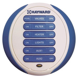 Hayward Pro Logic Aqua Pod Waterproof Wireless Spa-Side Remote