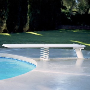 Inter-Fab Baja Jump Stand and Coil Spring White with 6' Jig
