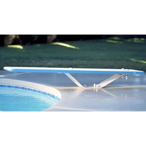 Inter-Fab 8' Duro-Spring Diving System Complete White