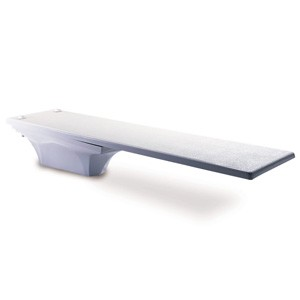 Inter-Fab 10' La Mesa Fiberglass Diving Base Gray