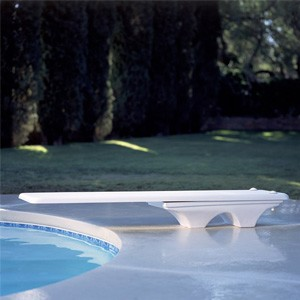 Inter-Fab 6' Los Arcos + Duro-Beam Board Diving System Complete White