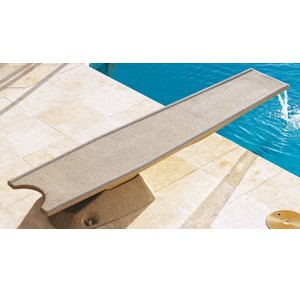 Inter-Fab 7' Diving Board Cappuccino