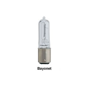 Replacement Bulb 250W DC Bayonet Halogen Clear 120V