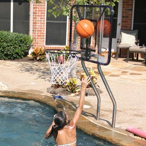 S.R. Smith Salt Pool Friendly Competition Basketball Backboard (no hardware)