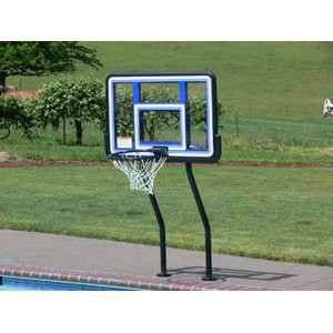 S.R. Smith Salt Pool Friendly Competition Basketball Game Complete (with Anchors)