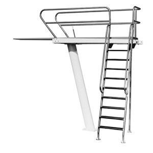 S.R. Smith 3 Meter Deluxe Left Mount Tower Only (For 14-16' Boards)