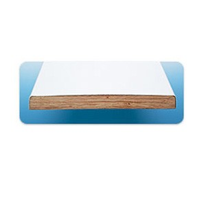S.R. Smith 6' Glas-Hide Board Only Radiant White