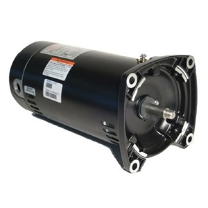 A.O. Smith Replacement Square Flange Motor .5HP Full-Rated Single-Speed