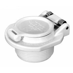 Hayward Vac Lock Safety Fitting White