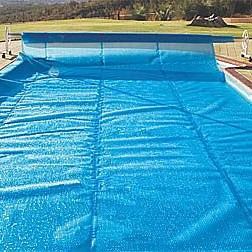 20 Ft x 44 Ft Rectangle In-Ground Blue Solar Blanket 5yr Wty