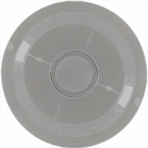 Lid for American Products, 9-3/16 In. Round, Grey