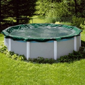 Pool Tux Royal 12' Round Solid Winter Cover (10yr Wty)
