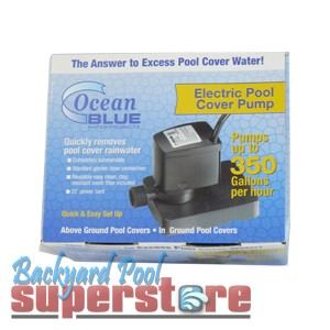 Ocean Blue Winter Cover Pump 350 GPH 25' Cord