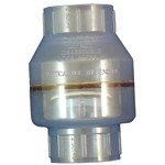 Swing Check Valve PVC Clear 2'' Slip x Slip