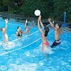 Swimline Jammin Cross Pool Volleyball In-Ground