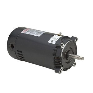 A.O. Smith Replacement C-Face Motor 1HP Full-Rated Single-Speed