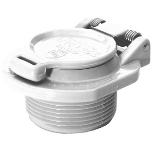 Vac Lock Safety Fitting (White)