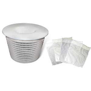 Swimming Pool Spa Skimmer Basket Filter Savers Fine Mesh Bag Socks Replacement